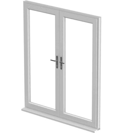 French Door, White