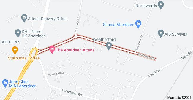 Aberdeen Window Supply Company Map